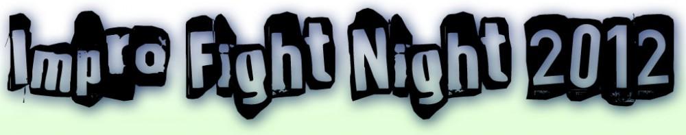 Impro Fight Night 2012