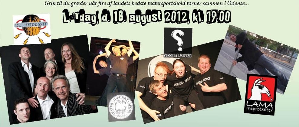 Torsdag, d. 18. august 2012, kl. 19:00